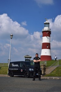 Locksmith in Plymouth at Smeaton's Tower, Plymouth Hoe
