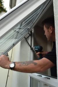 Plymouth Locksmith Repairing a uPVS window friction hinge